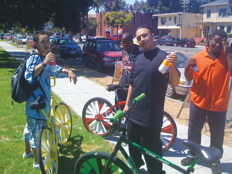 Bikes-4-Life-black-brown-unity, West Oakland's Bike Man: an interview wit Bikes 4 Life owner Tony Coleman, Culture Currents