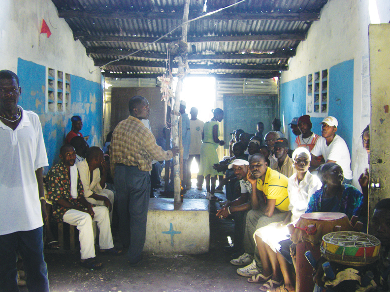 Haiti-II-Cite-Soleil-mobile-clinic-no-privacy-at-any-clinic-0610-by-Dr.-Chris-Zamani, Back to Port au Prince, World News & Views