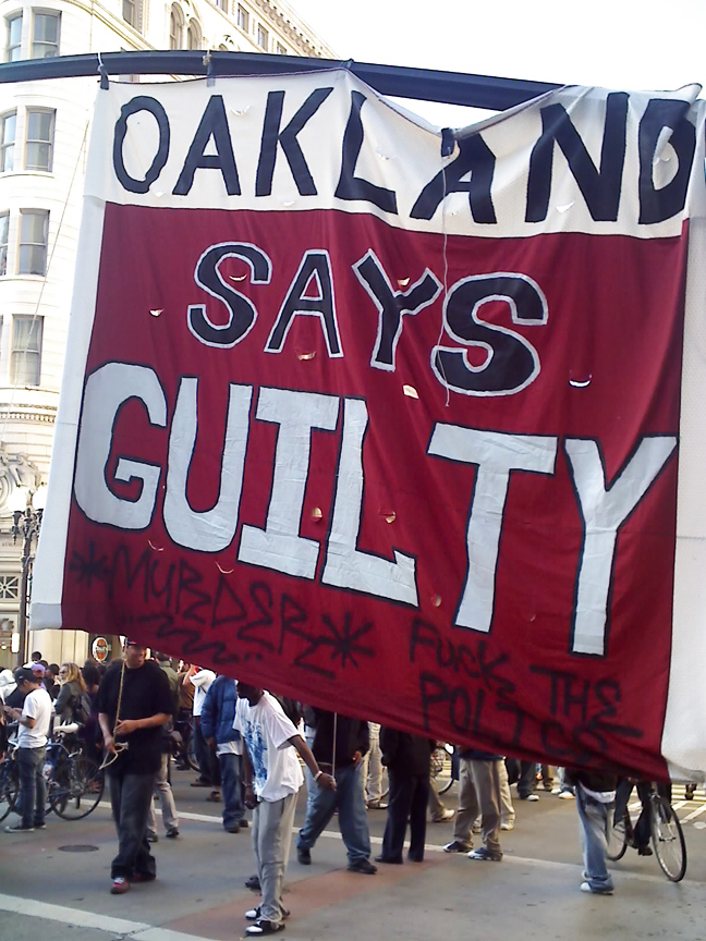 Oscar-Grant-Mehserle-verdict-Oakland-Says-Guilty-070810-by-Indybay, Oscar Grant was murdered!, Local News & Views