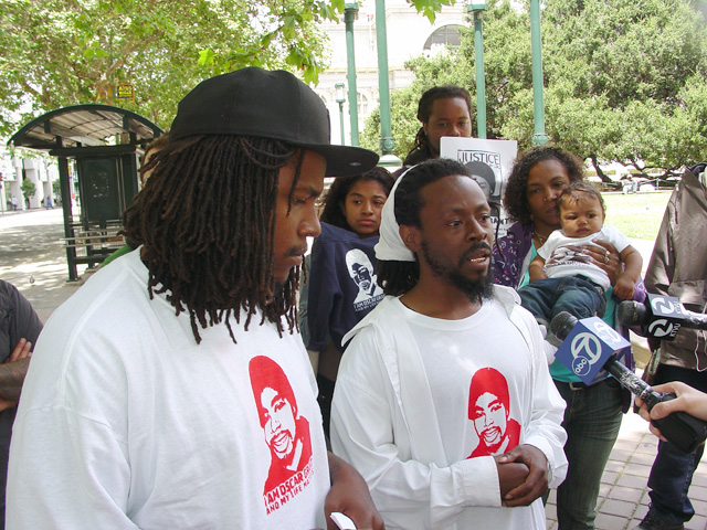 Oscar-Grant-Mehserle-verdict-prep-press-conf-070610-Oakland-by-Dave-Id-Indybay, Oakland officials tried to preempt day of verdict community gathering, Local News & Views