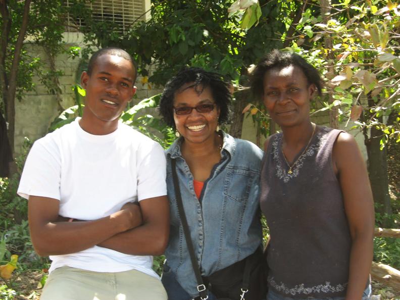 Haiti-earthquake-Wanda-at-Sopudep-School-0410-by-Wanda, Wanda's Picks for August 2010, Culture Currents