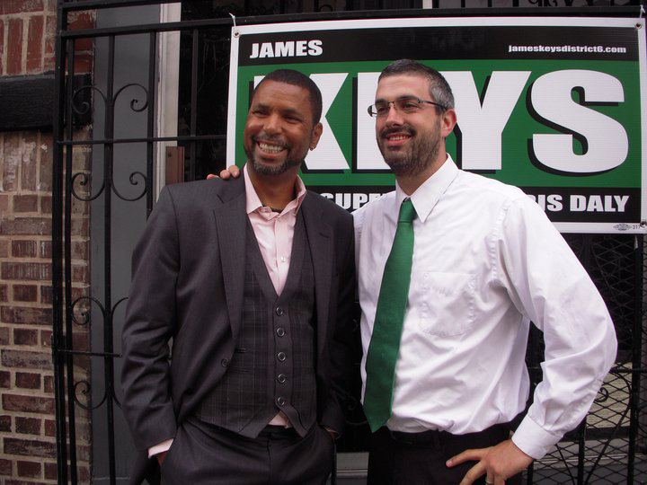 James-Keys-Chris-Daly-JK-campaign-sign-0810-by-Kay-Karpus-Walker, Do the right thing! Elect James Keys District 6 Supervisor, Local News & Views