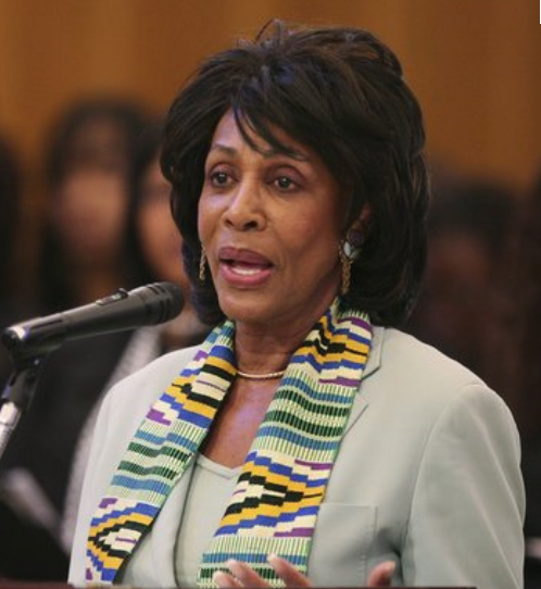 Maxine Waters Family Maxine Waters Champion of