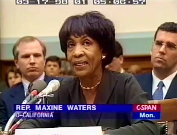 Maxine-Waters-testifies-House-Intelligence-Commitee-on-CIA-involvement-in-drug-trafficking-031698, The trials of Rep. Maxine Waters: Ethics or payback?, National News & Views