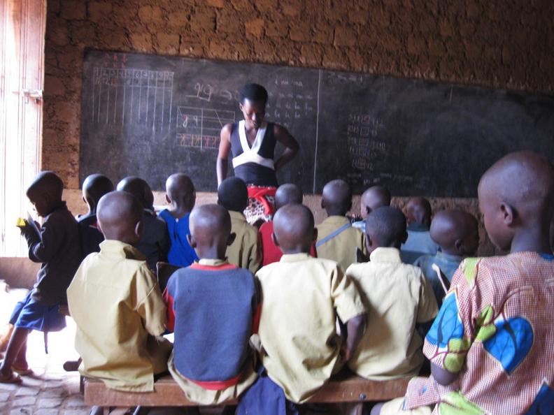 Rwanda-Ntenyo-Primary-School-bldg-run-down-few-benches-blackboards-9-teachers-for-597-students-0710-by-Sanejo.org_, Rwanda's Victoire Ingabire Umuhoza speaks to Women's International News Gathering Service, World News & Views