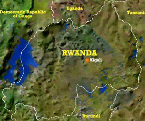 Rwanda-topographic-map-showing-Lake-Kivu-shared-with-DRC, Rwanda's Victoire Ingabire Umuhoza speaks to Women's International News Gathering Service, World News & Views