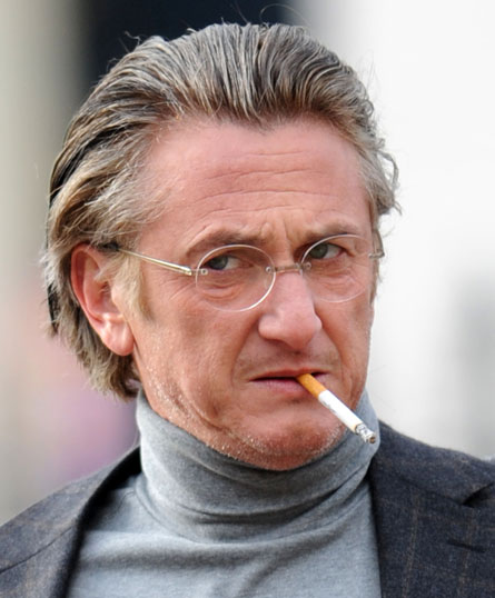 Sean-Penn-smoking-cigarette, Sean Penn and Wyclef Jean: Hollywood, hip hop and Haiti, World News & Views