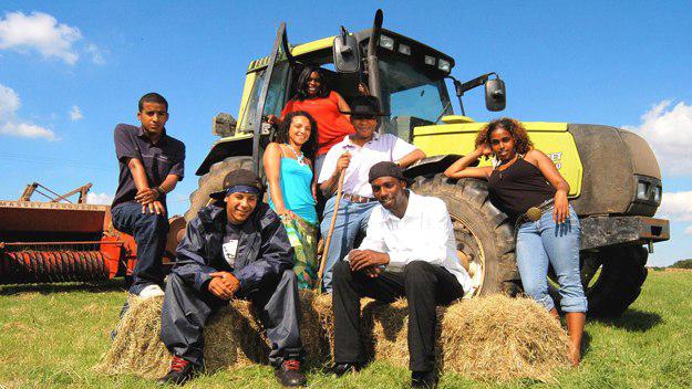 Black Young Farmer