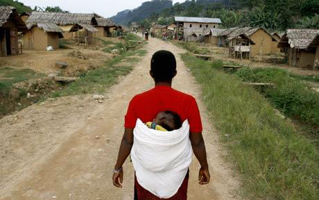 Eastern-Congo-Luvungi-village-242-rapes-in-0710-by-AFP-Getty-090310, Congolese women denounce mass rape and foreign occupation, World News & Views