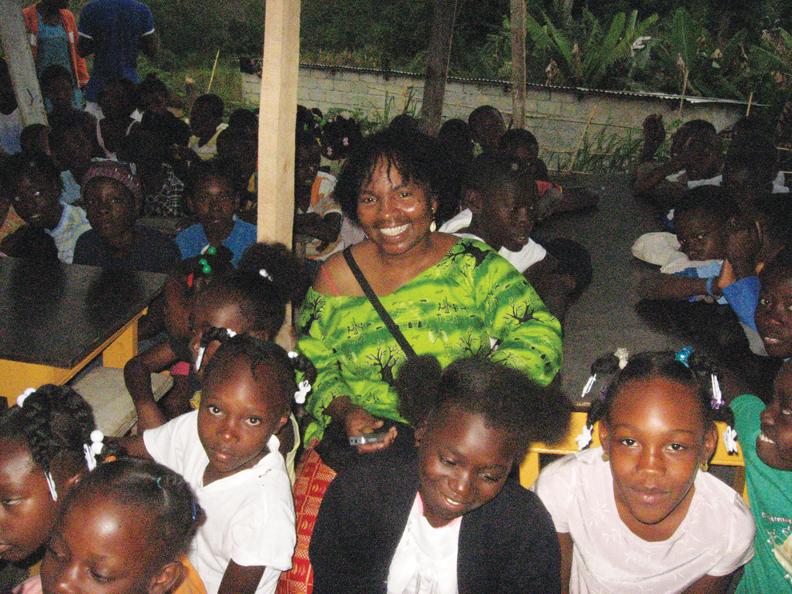 Haiti-Wanda-with-kids-at-Pou-Soléy-Leve-0810-by-Wanda, Wanda in Haiti: Pain, protest, planning for the future, World News & Views