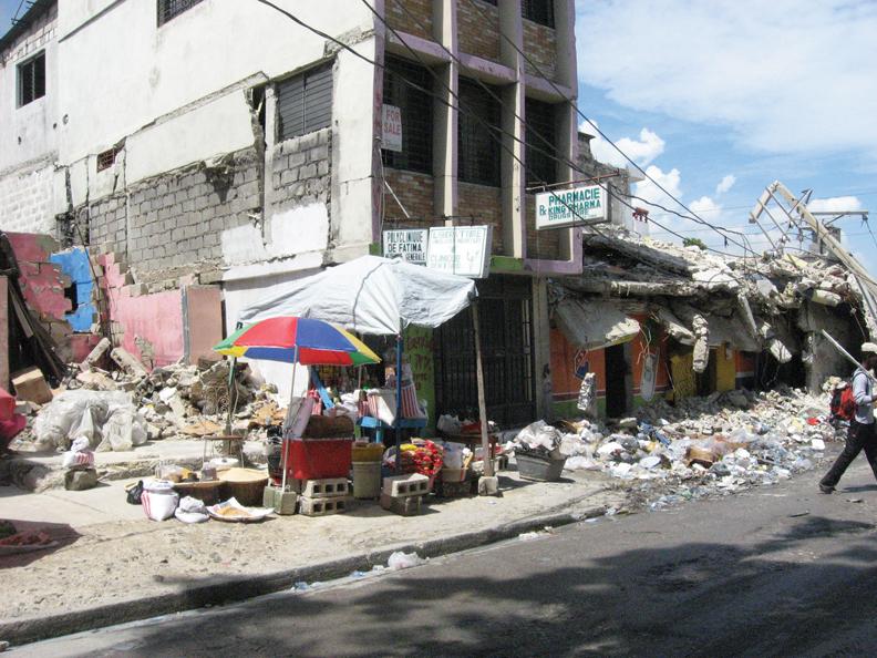 Haiti-bldgs-still-collapsing-micro-commerce-0810-by-Wanda, Wanda in Haiti: Pain, protest, planning for the future, World News & Views
