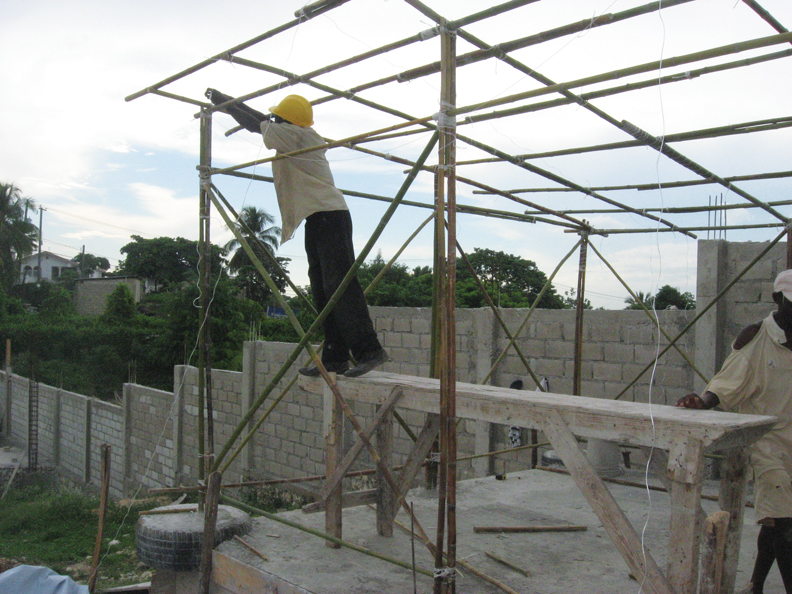Haiti-building-Sopudep-II-0810-by-Wanda2, Wanda in Haiti: Pain, protest, planning for the future, World News & Views