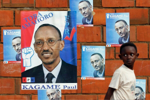 Kagame elections poster