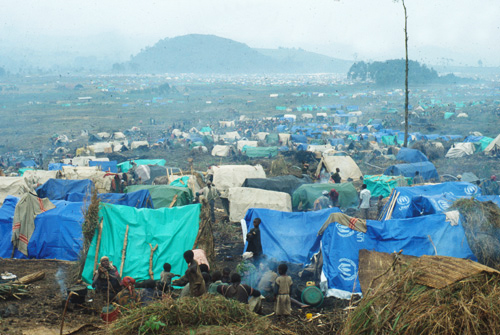 Rwandan-refugee-camp-Zaire-1994-copy, The Rwandan Patriotic Front's bloody record and the history of U.N. cover-ups, World News & Views