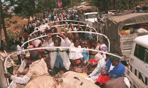 Rwandan-refugees-expelled-from-Zaire-packed-into-UN-trucks-Goma-0895, The Rwandan Patriotic Front's bloody record and the history of U.N. cover-ups, World News & Views