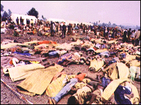 Rwandan refugees massacred in a camp in DR Congo