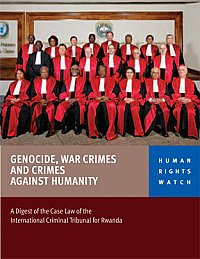 Genocide-War-Crimes-and-Crimes-Against-Humanity'-HRW-0110-cover, ICTR lawyers: No justice for Congo from international courts, World News & Views
