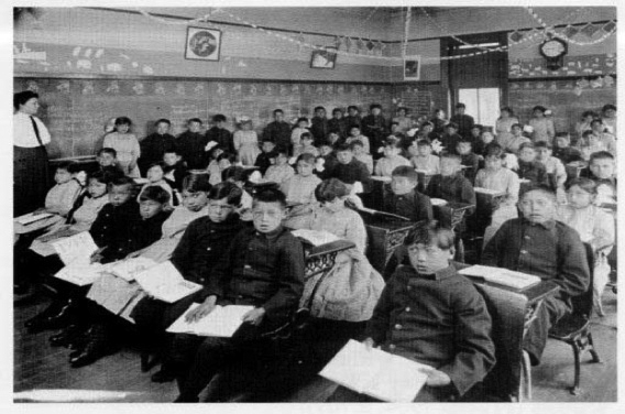 Genoa-Industrial-School-for-Indian-Youth-mostly-Sioux-in-Nebraska-1910, SF Housing Authority rejects family for being Indigenous, World News & Views