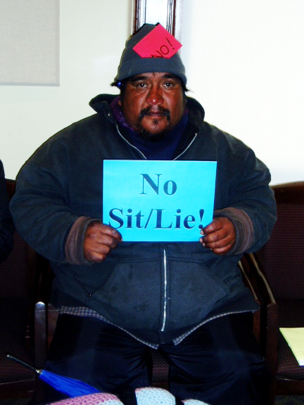 No-sit-lie1, LA law: sit/lie in Los Angeles, National News & Views