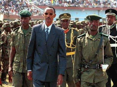 Rwanda-President-Paul-Kagame-leads-his-troops, Kagame regime demands Professor Peter Erlinder return to Kigali to stand trial, World News & Views