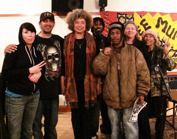 Angela-Davis-greeted-by-apprentices-programmers-at-KPFA-0309-by-Adalia-web2, Hard Knock Radio needs your help!, Local News & Views