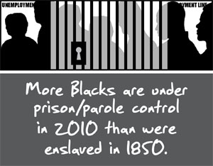 More-Blacks-in-prison-parole-in-2010-than-enslaved-in-1850, Why are these men in jail?, Behind Enemy Lines