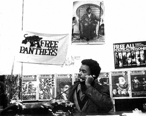 Mumia-Panthers-Min.-of-Info-1970-by-Phila.-Inquirer, Two messages from Mumia – from a week ago and from 1981, Behind Enemy Lines