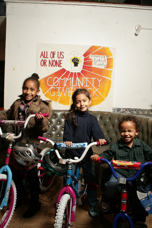 All-of-Us-or-None-bike-giveaway-happy-kids-on-bikes-12101, 11th Annual Community Giveback: 'Invisible' people give bikes to children of incarcerated parents, Culture Currents