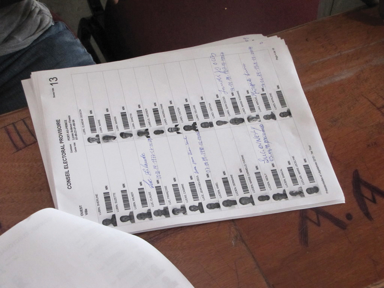 conseil electoral provisoire haiti