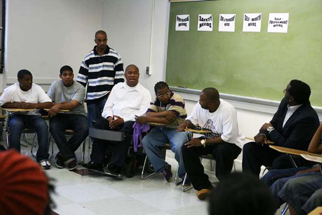 In-Arms-Reach-Terrance-Stevens-leads-panel, A holiday miracle for children of incarcerated parents, Culture Currents