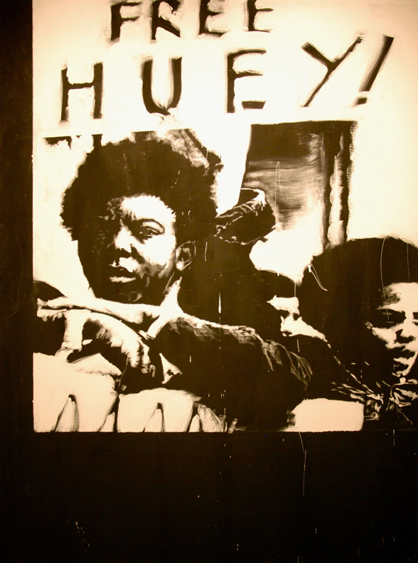 Free-Huey-acrylic-on-canvas-42x72-by-Sophia-Dawson, Wet paint: an interview with visual artist Sophia Dawson, Culture Currents