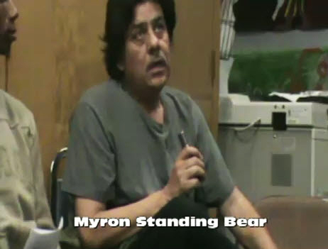 Myron-Standing-Bear-at-POOR-Community-Newsroom-1210, Myron Standing Bear gets housing justice – almost, Local News & Views