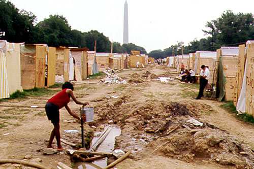 Resurrection-City-DC-Poor-Peoples-Campaign-1968, MLK's legacy and the renewed assaults on the working class and oppressed, National News & Views