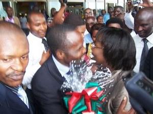Victoire-Ingabire-arrives-Kigali-Airport-greeted-by-Frank-Habineza-Bernard-Ntaganda-011710-by-IGIHE.com-Rwanda1, Kagame court again denies bail to Victoire Ingabire, World News & Views