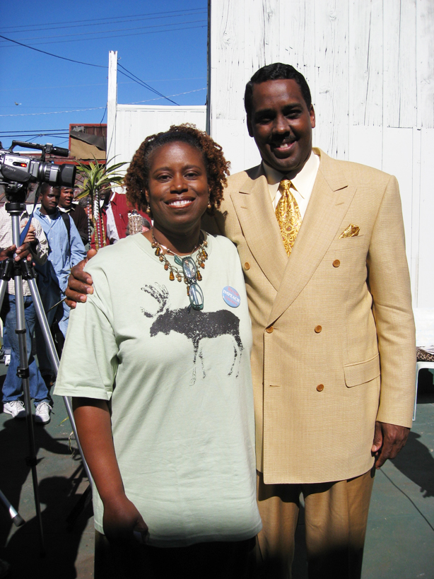 Cynthia-McKinney-Min.-Chris-100607-by-Kaye, Deep inside every one of us is a Revolution waiting to happen, World News & Views
