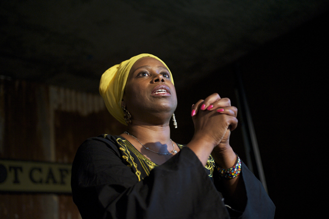 Cynthia-McKinney-Triumph-Tour-Cynthia-speaking-gorgeous-at-Black-Dot-082109-by-Kamau-web, Deep inside every one of us is a Revolution waiting to happen, World News & Views
