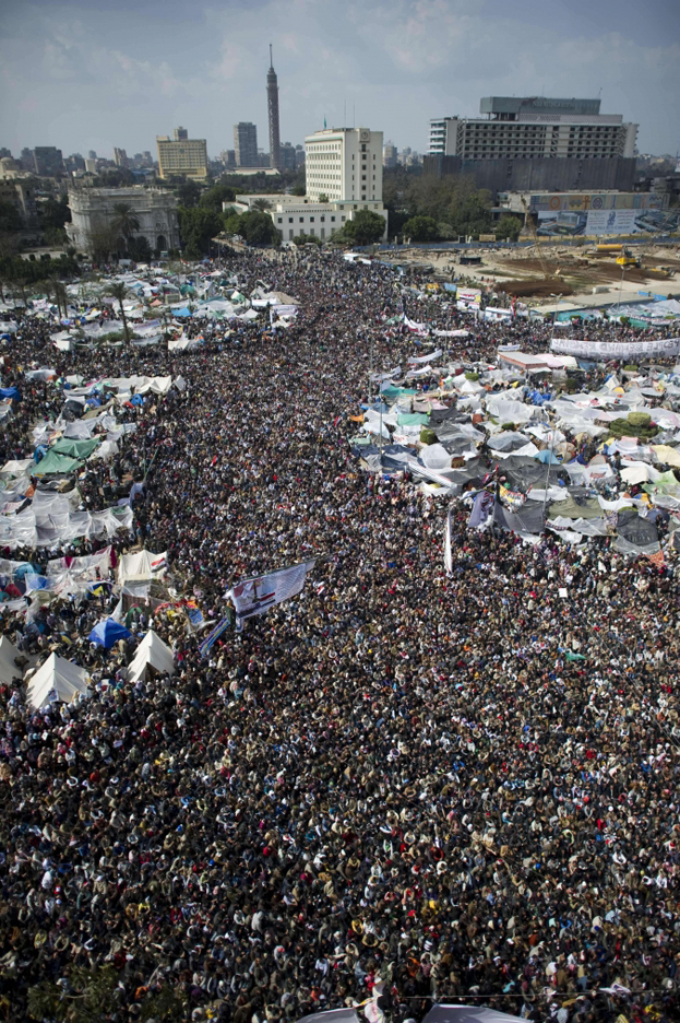 Egypt-Tahrir-Square-crowd, The people have won!, World News & Views