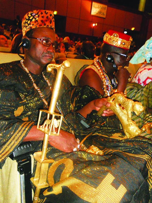 King-of-Burkina-Faso-at-Tripoli-conf-0111-by-JR-web3, Notes from Tripoli, Libya, Africa, World News & Views