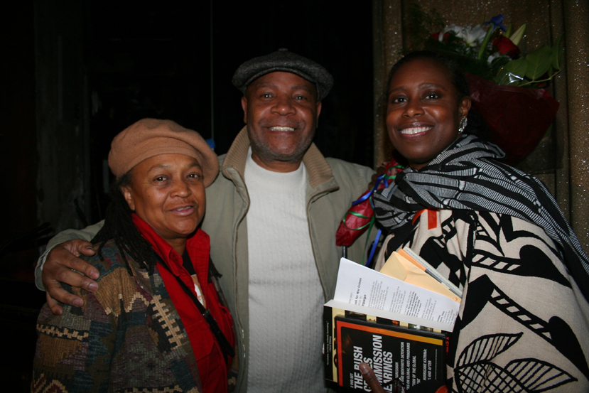 Pam-Africa-Emory-Douglas-Cynthia-McKinney-022107-by-JR-web, Deep inside every one of us is a Revolution waiting to happen, World News & Views