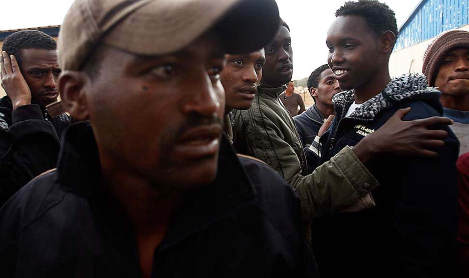 Black-Libyans-030411-by-Luis-Sinco-LA-Times, Toward African freedom in Libya and beyond, World News & Views
