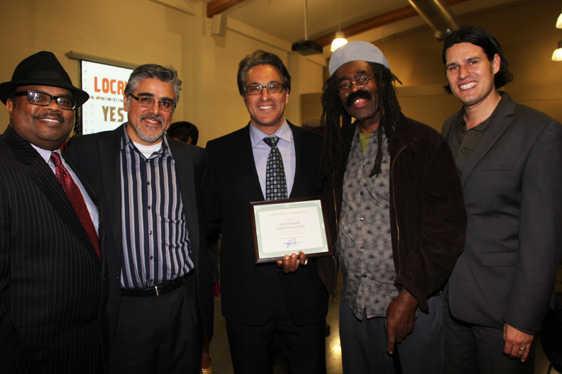 James-Bryant-Sups.-Avalos-Mirkarimi-Terry-Anders-Joshua-Arce-at-local-hire-victory-party-022311-by-Mindy-Kener, Local hiring victory party in San Francisco, Local News & Views