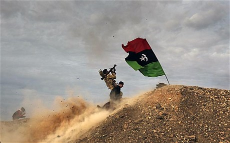 Libyan-army-advances-on-Benghazi-031711-by-Getty, U.S., NATO and the attacks against Libya, World News & Views