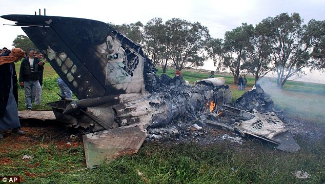 Libyan-rebel-plane-crash-due-to-mechanical-failure-near-Benghazi-031711-by-AP, U.S., NATO and the attacks against Libya, World News & Views