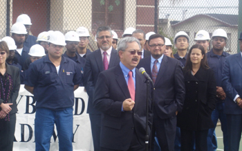 Mayor-Lee-speaks-CityBuild-Academy-local-hire-celebration-at-Palega-Rec-Ctr-030911-by-Eddie-Ahn, The faces of local hire, Local News & Views