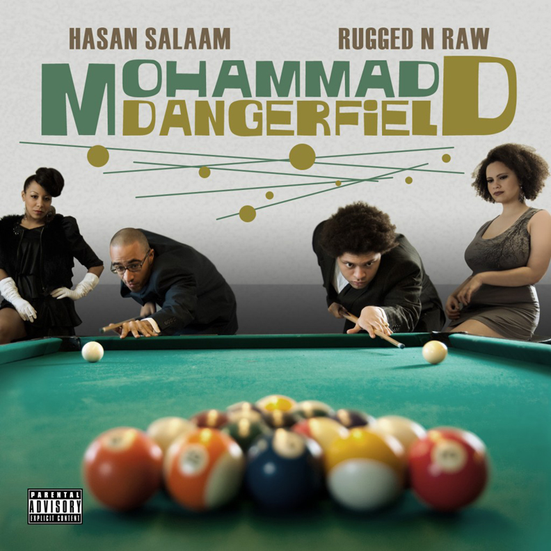 Mohammad-Dangerfield-cover, The art of rappin' 'in Black & White': an interview wit' rapper Hasan Salaam, Culture Currents
