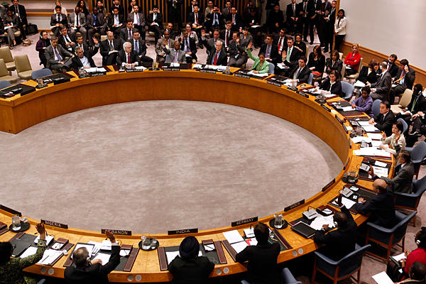 UNSC-vote-for-Libya-no-fly-zone-031711-by-Jason-DeCrow-AP, U.S., NATO and the attacks against Libya, World News & Views