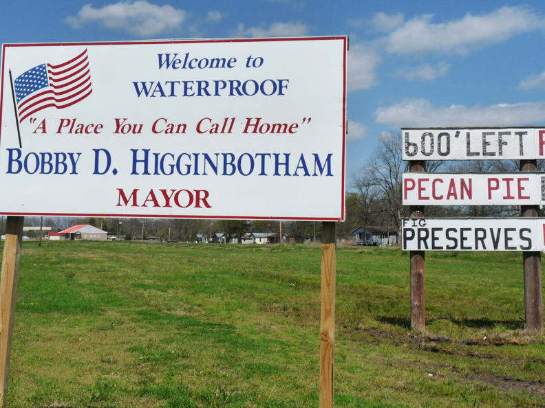 Welcome-to-Waterproof-sign1, The Black mayor of Waterproof, Louisiana, has spent nearly a year behind bars without bail, National News & Views
