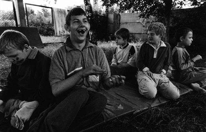 Chernobyl-children-mentally-deficient-Novinski-Asylum-Minsk-Belarus-1997-by-c-Paul-Fusco-Magnum-Photos1, Is the Fukushima nuclear plant breakdown worse than Chernobyl?, World News & Views