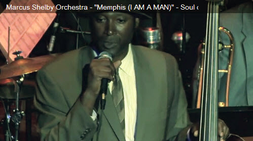 Marcus-Shelby-introduces-Memphis-segment-Soul-of-the-Movement-on-MLK-2011, Wanda's Picks for April 2011, Culture Currents