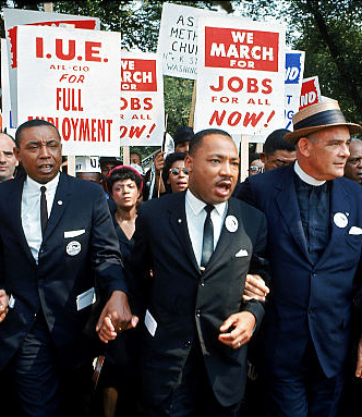 Martin-Luther-King-marching-for-jobs-color-web, Fulfilling King's dream, National News & Views